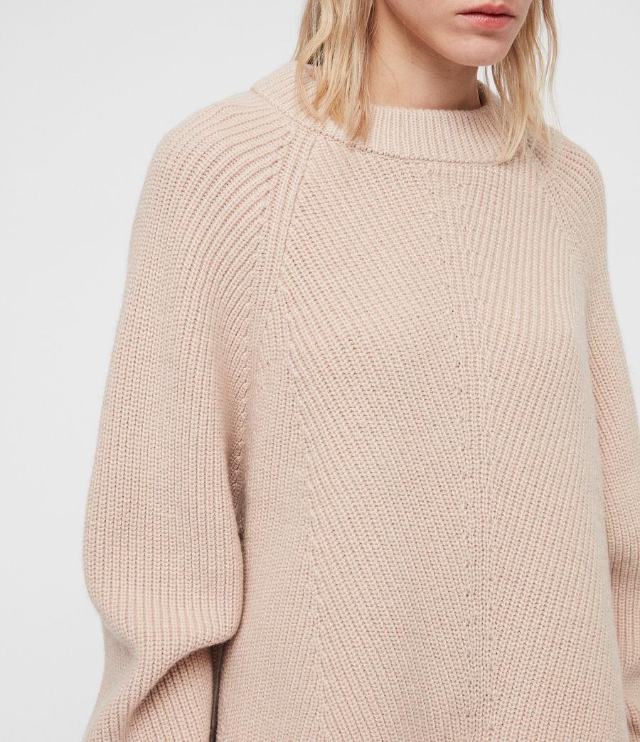 Womens Sylvie Sweater (nude_pink) - Image 2