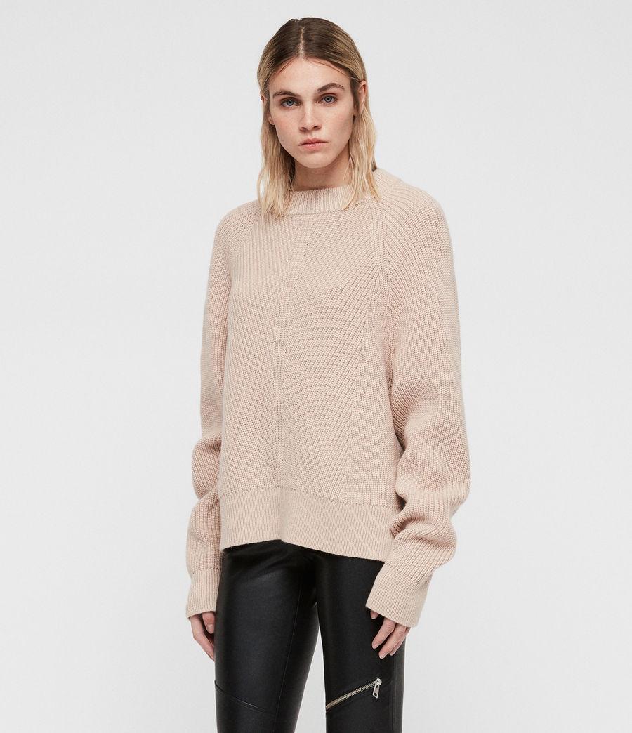 Womens Sylvie Sweater (nude_pink) - Image 3
