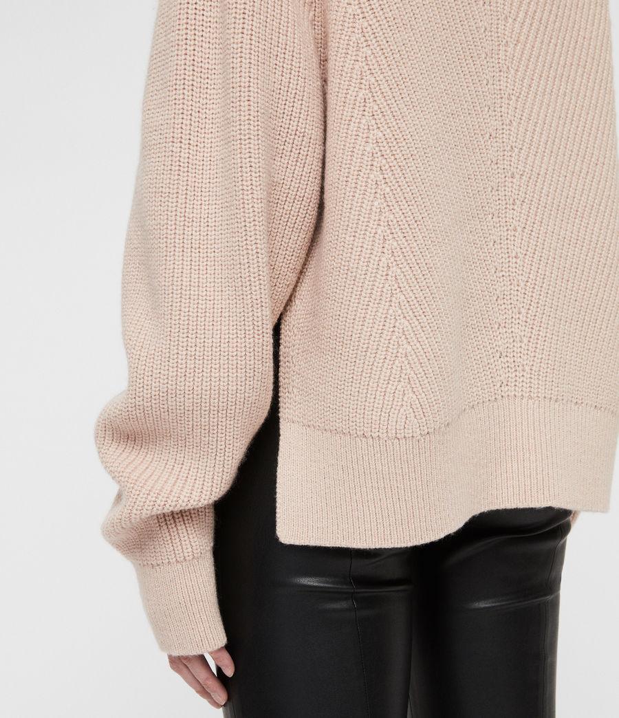 Womens Sylvie Sweater (nude_pink) - Image 4