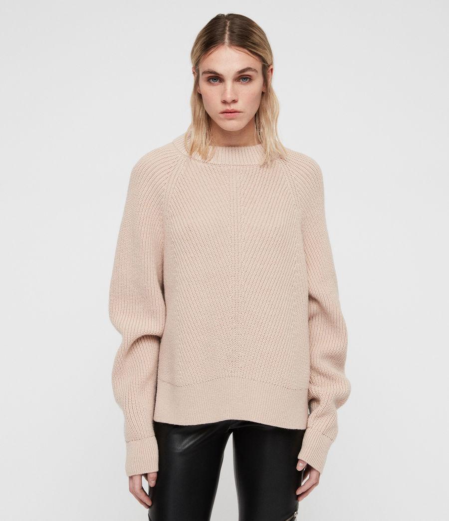Womens Sylvie Sweater (nude_pink) - Image 5