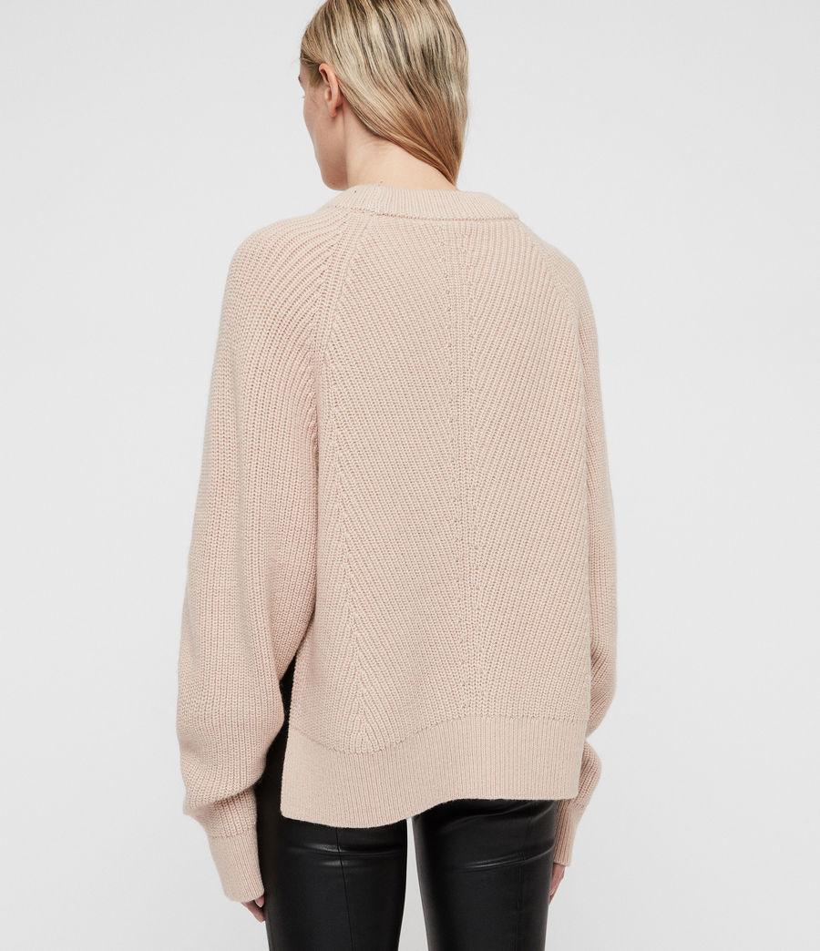 Womens Sylvie Sweater (nude_pink) - Image 6