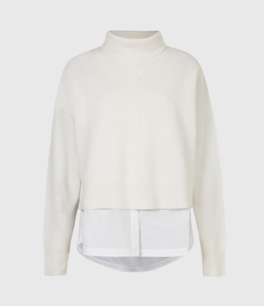 Women's Lydi Shirt Jumper (cloud_white) - Image 2