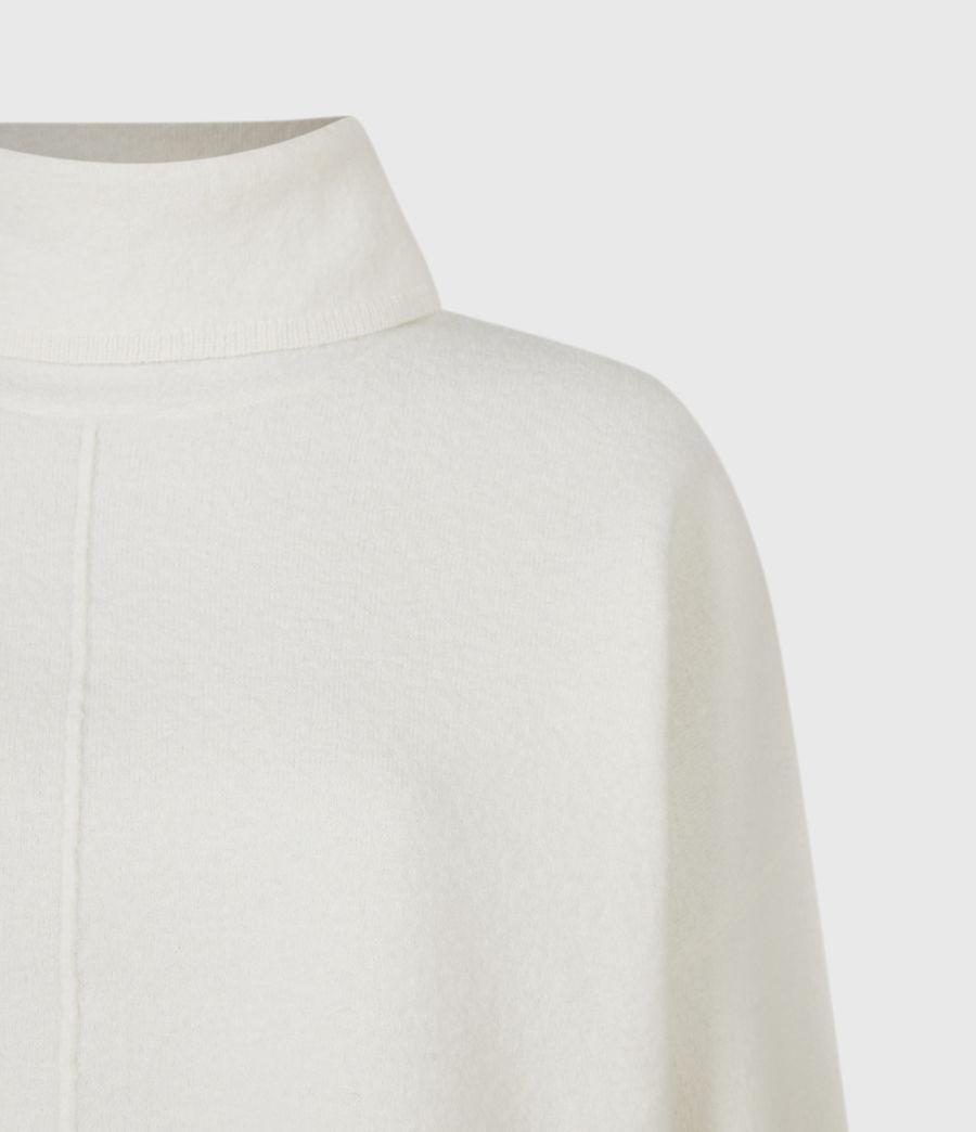 Womens Lydi Shirt Sweater (cloud_white) - Image 5