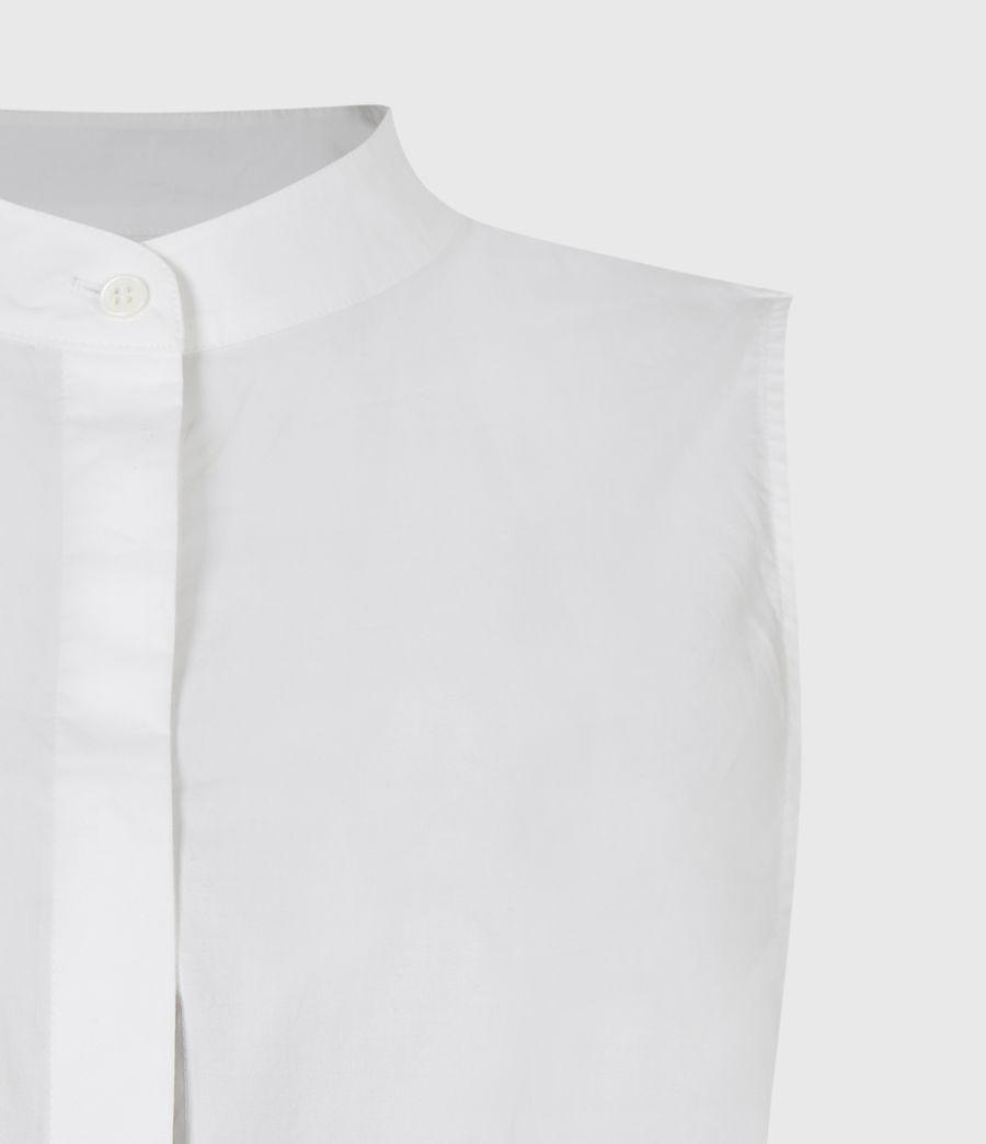 Womens Lydi Shirt Sweater (cloud_white) - Image 6