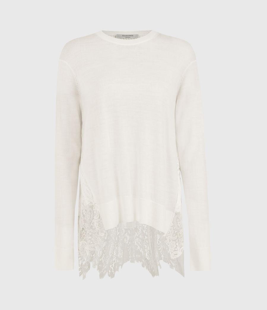 Womens Aspyn Lea Sweater (chalk_white) - Image 1