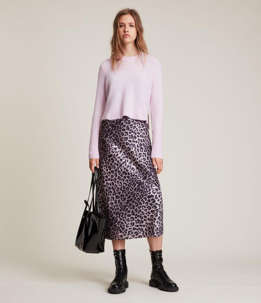 Womens Wick Crew Sweater (soft_pink) - Image 1
