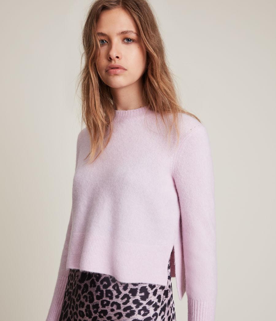 Womens Wick Crew Sweater (soft_pink) - Image 2