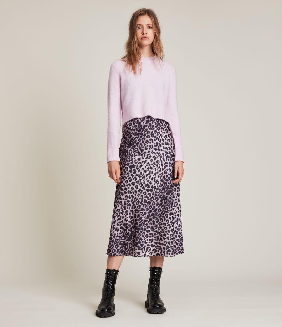 Womens Wick Crew Sweater (soft_pink) - Image 3