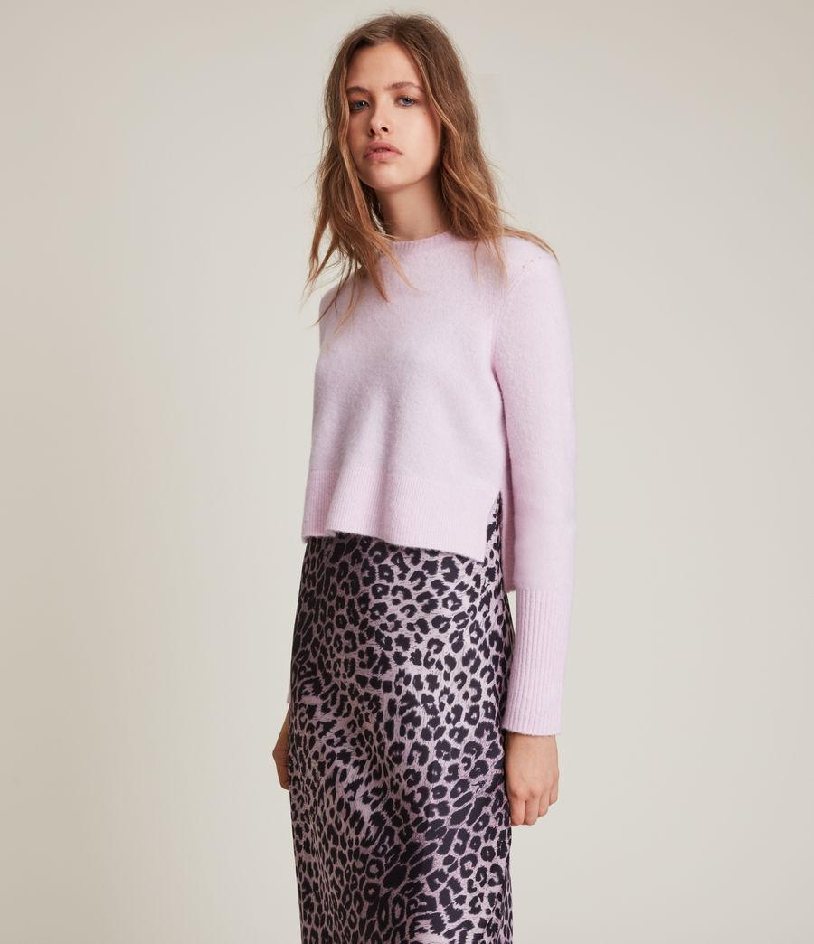 Womens Wick Crew Sweater (soft_pink) - Image 4