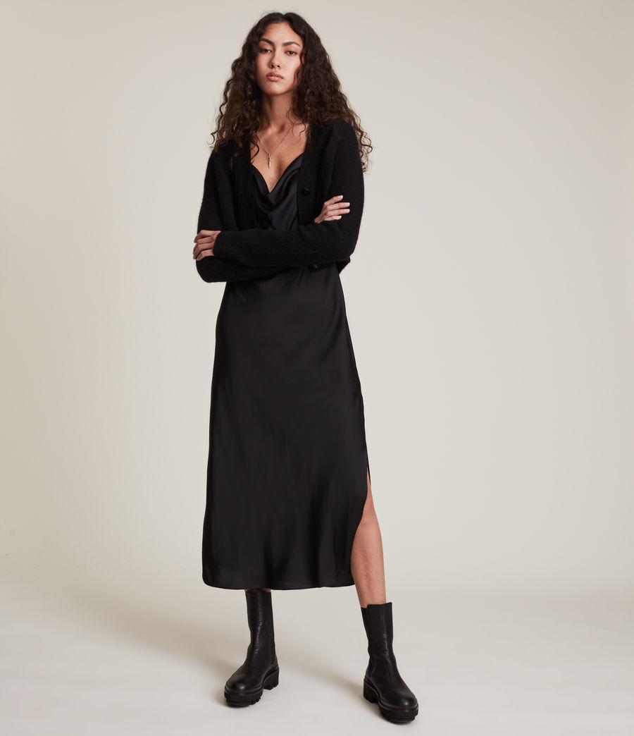 Women's Wick Cardigan (black) - Image 1
