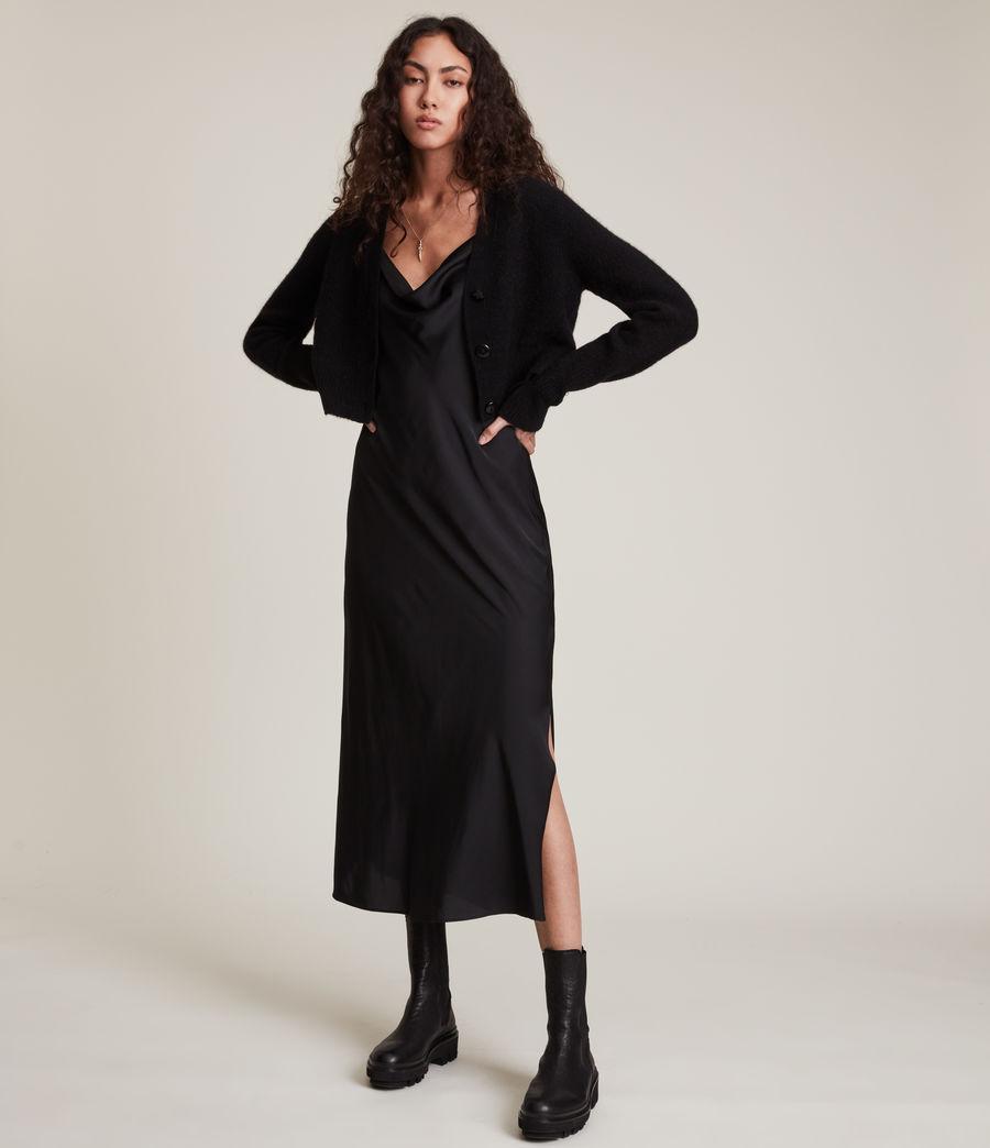 Women's Wick Cardigan (black) - Image 3