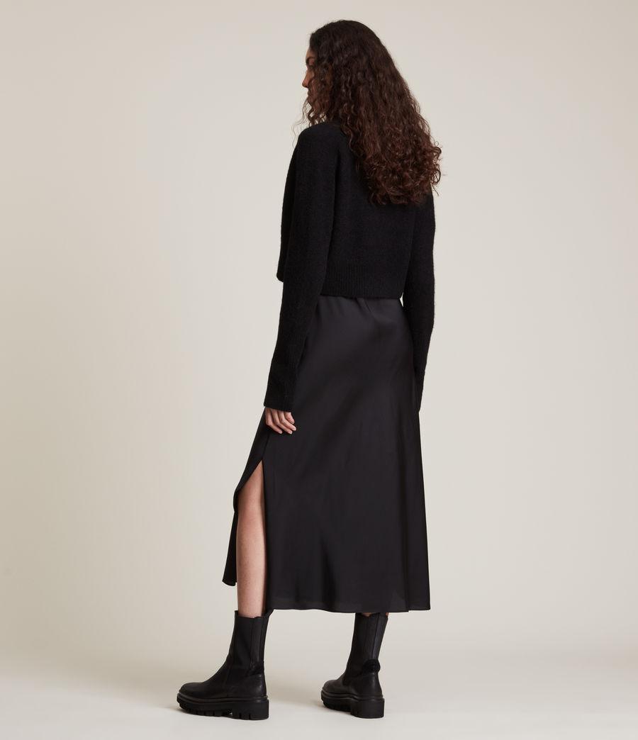 Women's Wick Cardigan (black) - Image 5