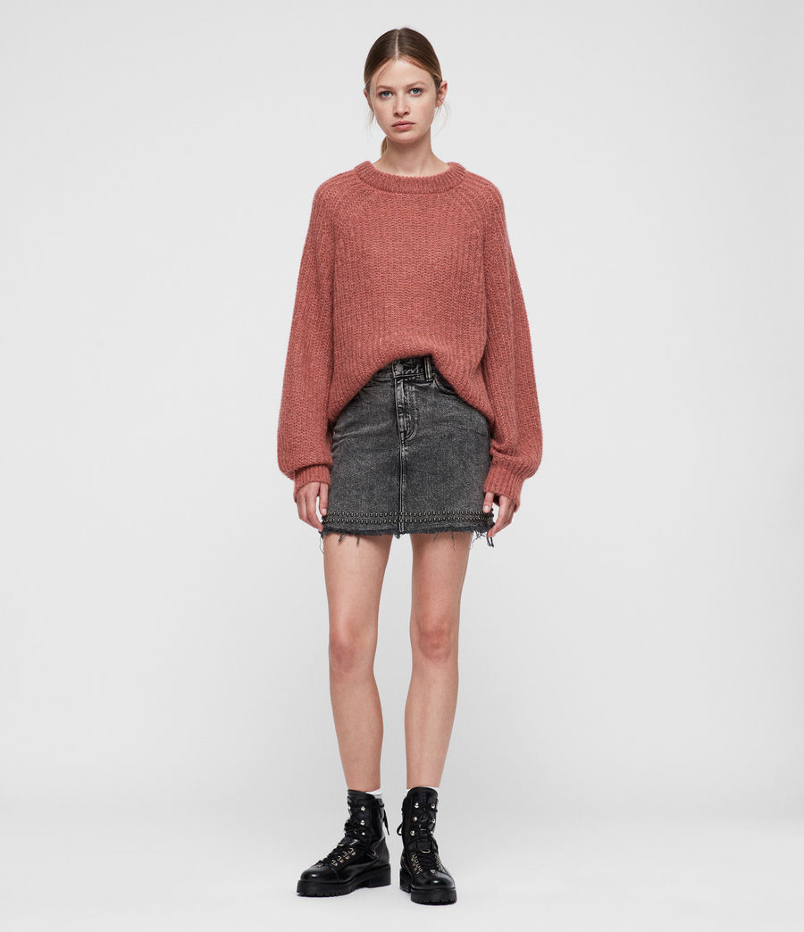 Women's Renne Short Jumper (coral_twist) - Image 1