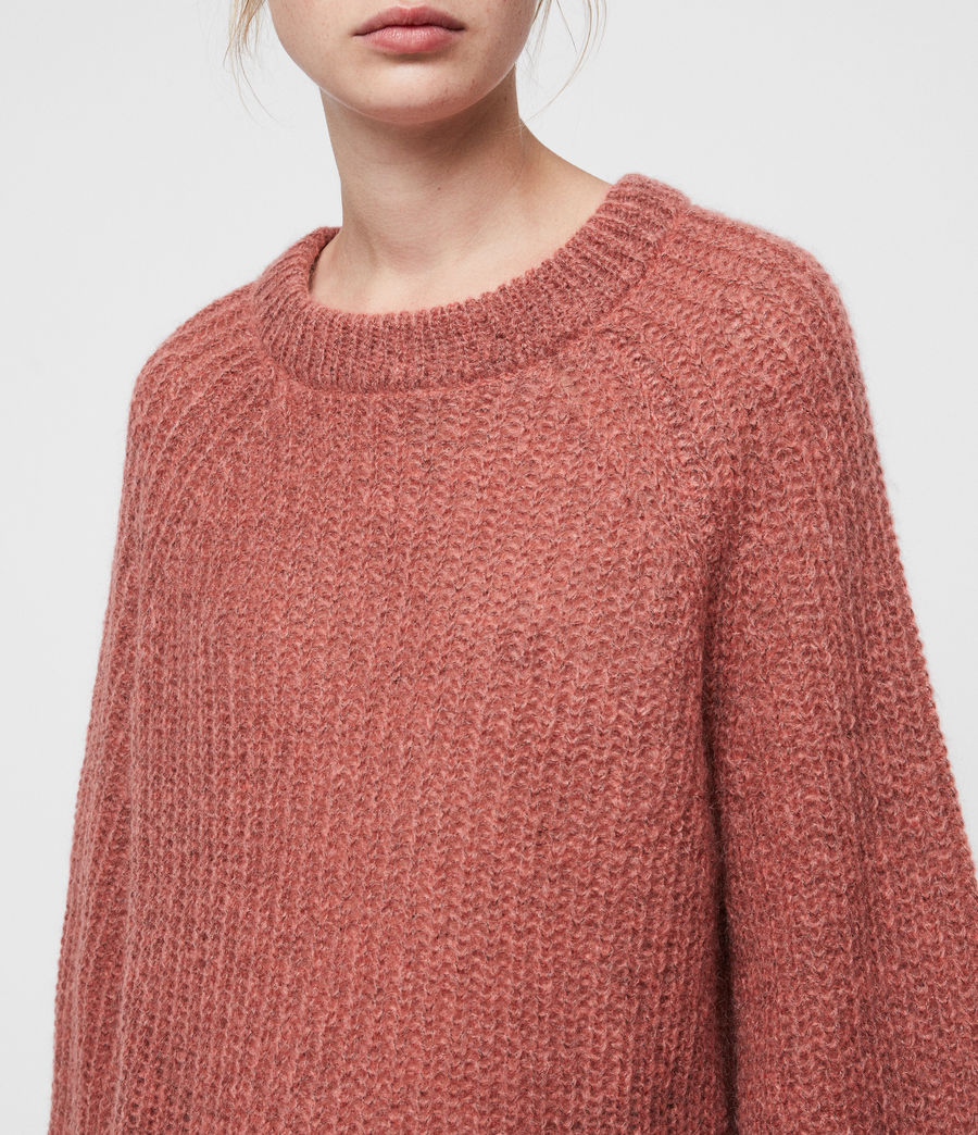 Women's Renne Short Jumper (coral_twist) - Image 2