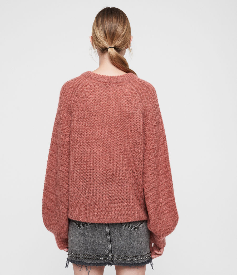 Women's Renne Short Jumper (coral_twist) - Image 4