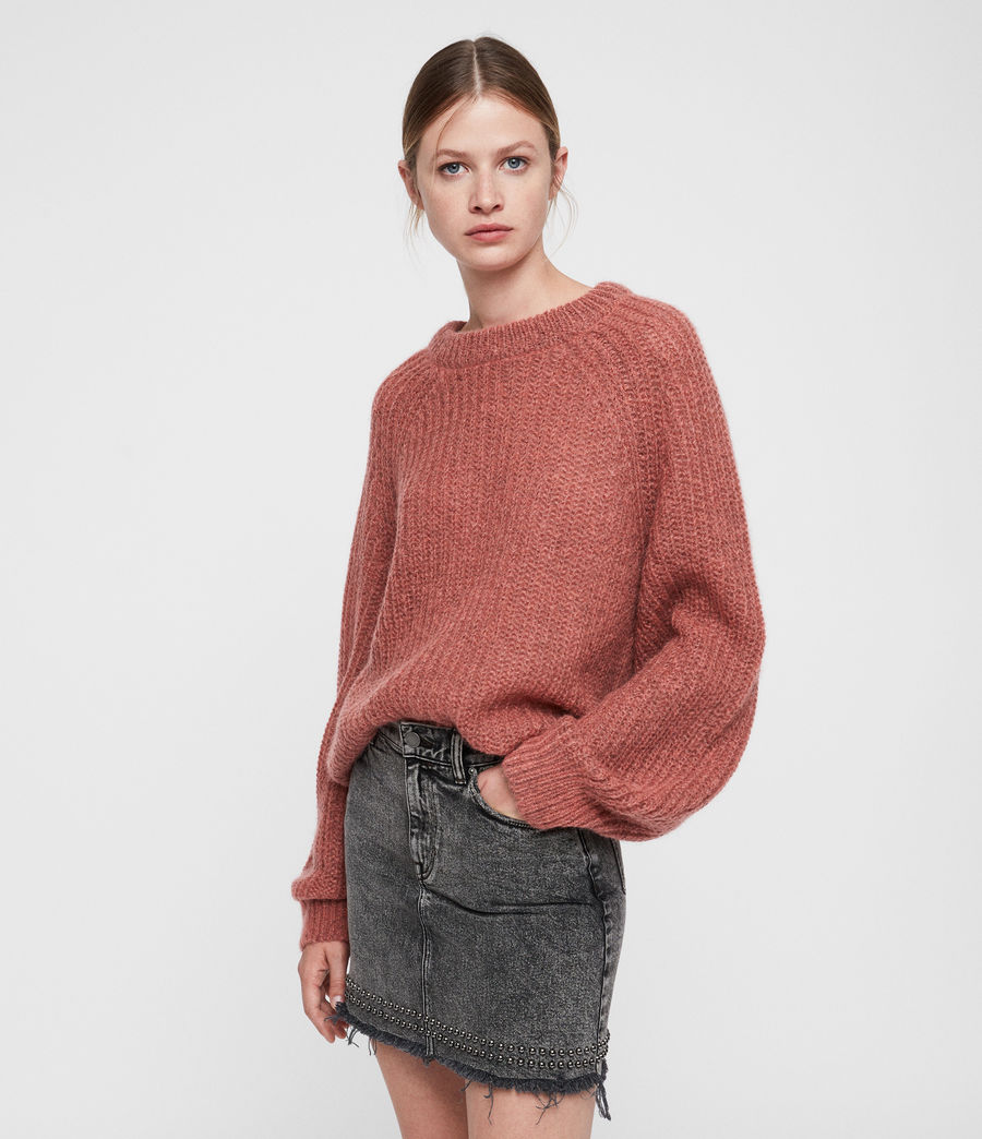 Women's Renne Short Jumper (coral_twist) - Image 5