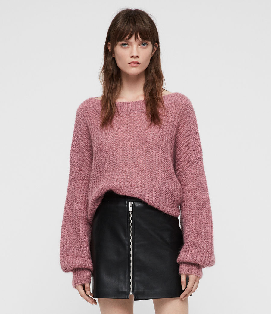 Mujer Renne Sweater (pink_twist) - Image 1
