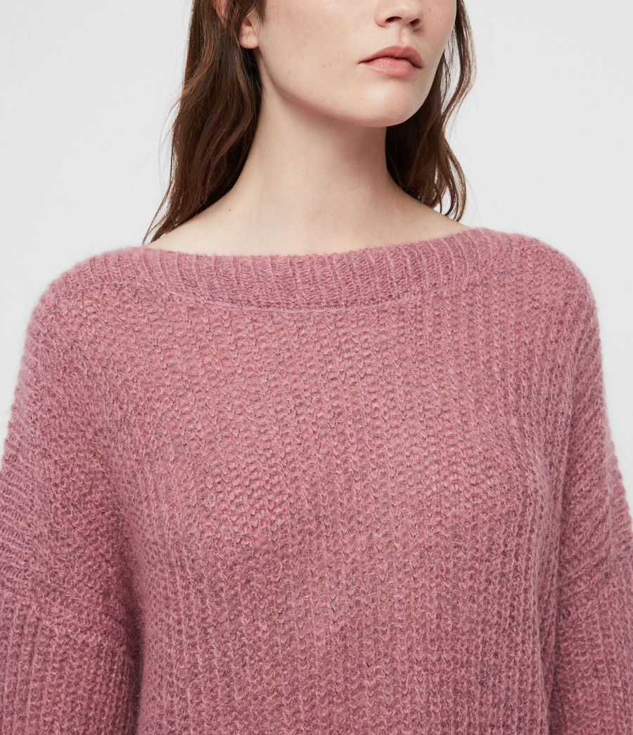 Womens Renne Sweater (pink_twist) - Image 2