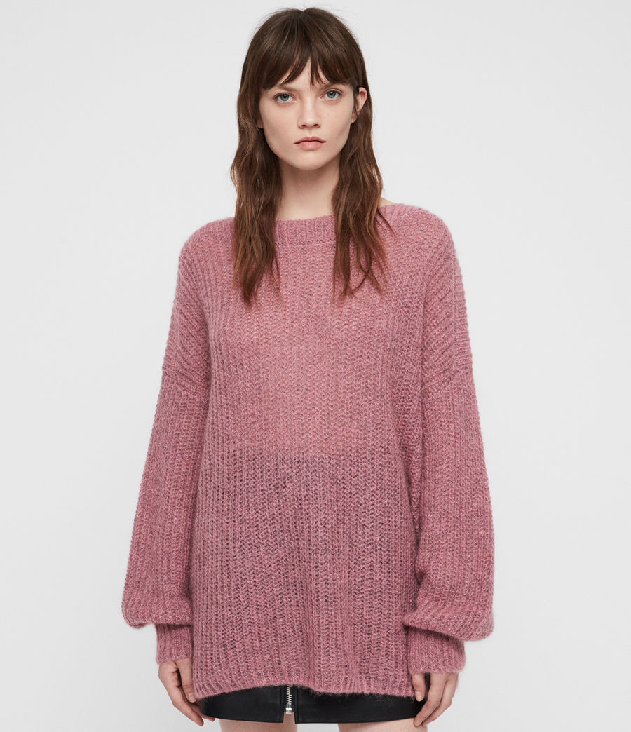 Womens Renne Sweater (pink_twist) - Image 3