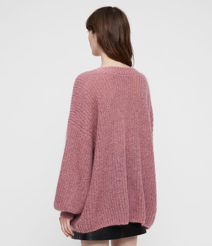 Femmes Pull Renne (pink_twist) - Image 4