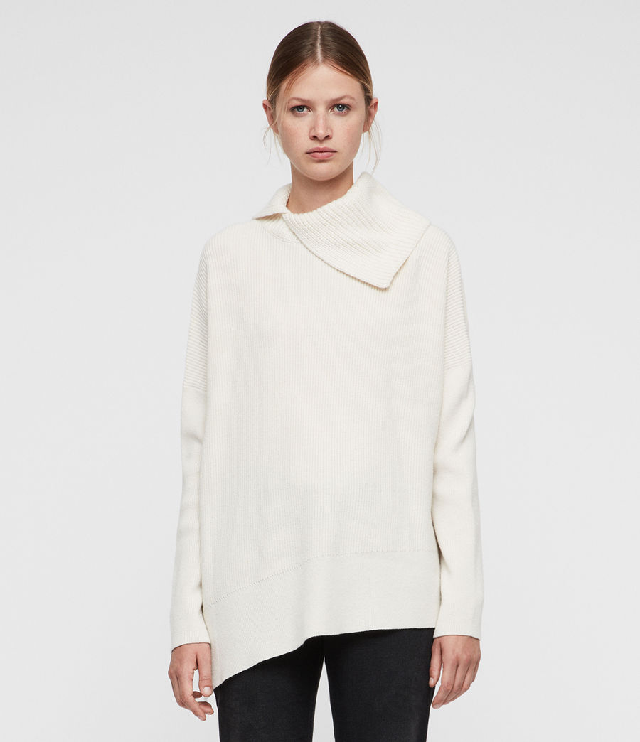 Womens Hettie Sweater (chalk_white) - Image 1