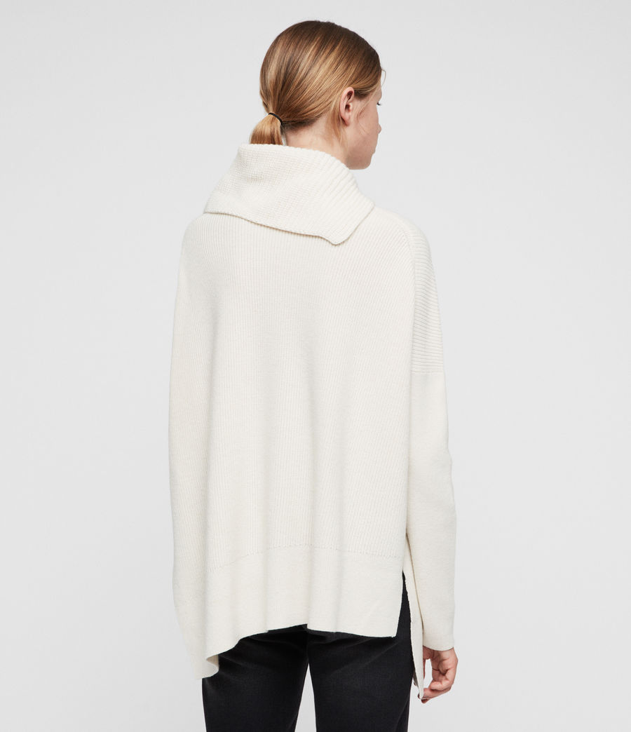 Womens Hettie Sweater (chalk_white) - Image 4