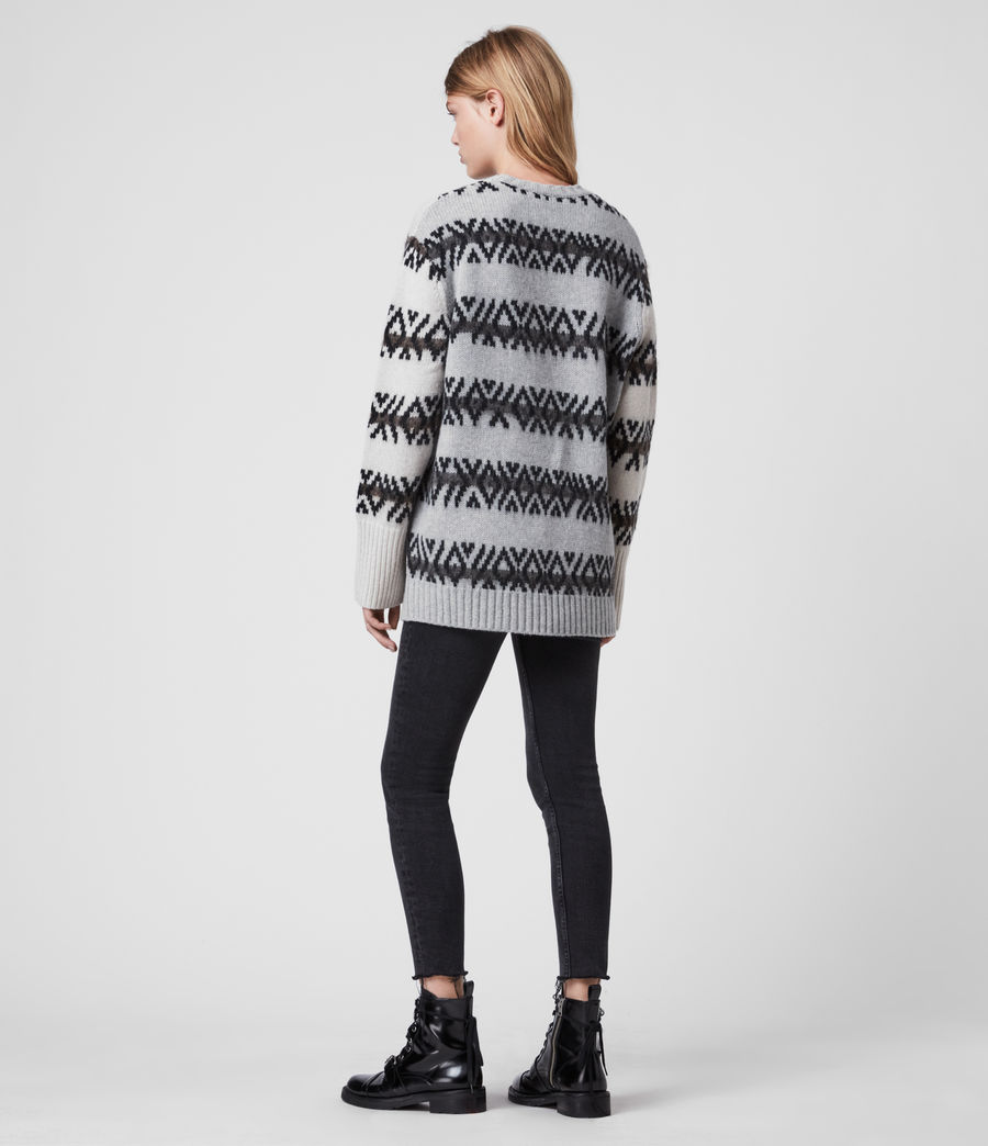 Damen Catalina Jumper (ecru_silver_grey) - Image 6