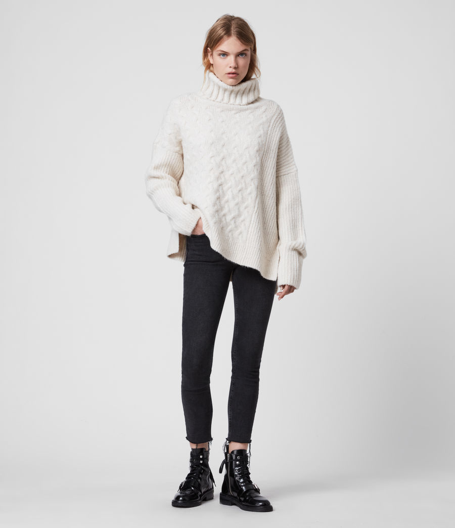 Womens Liliya Sweater (dune_white) - Image 3
