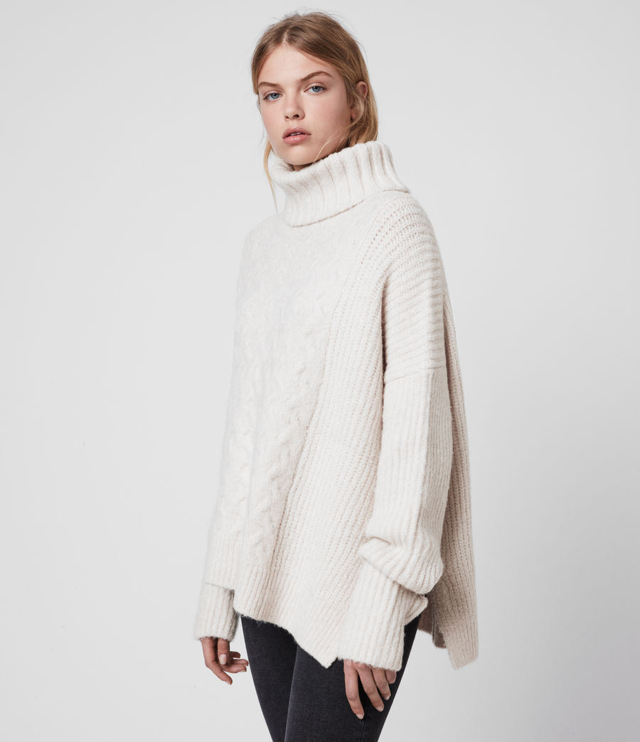 Womens Liliya Sweater (dune_white) - Image 4
