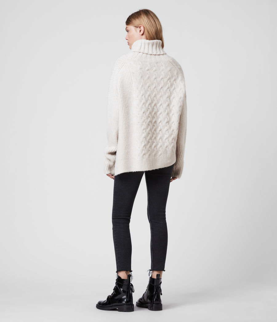 Womens Liliya Sweater (dune_white) - Image 5