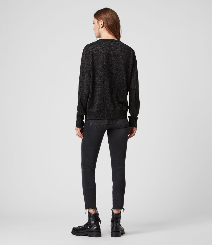 Womens A Saint Sweater (black) - Image 5