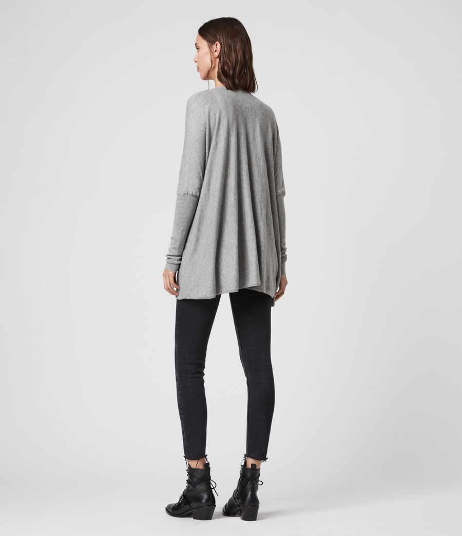 Womens Itat Shrug Cardigan (grey_marl) - Image 5