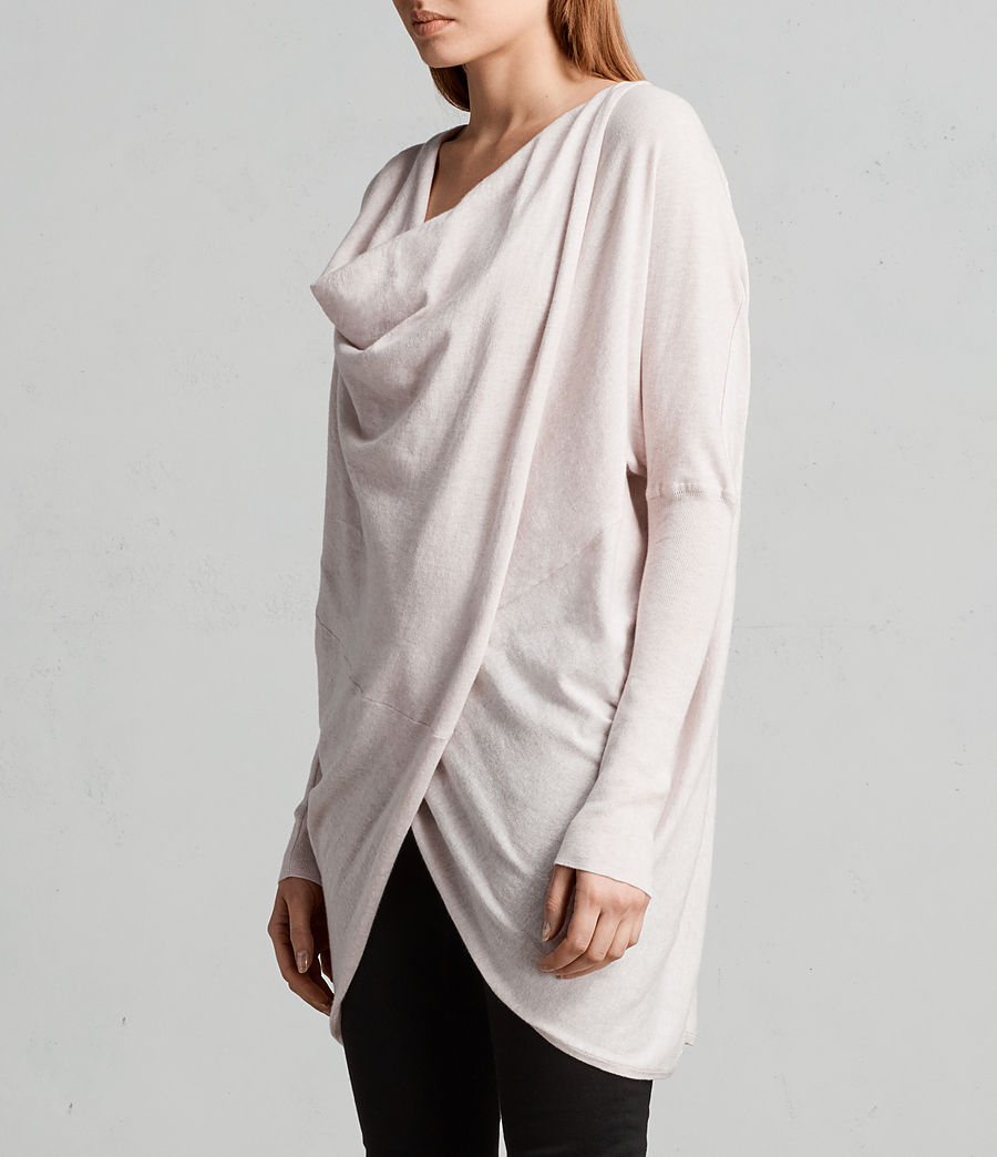 Womens Itat Shrug Cardigan (powder_pink) - Image 2