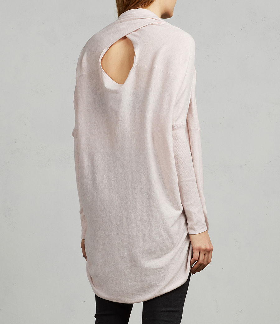 Womens Itat Shrug Cardigan (powder_pink) - Image 5