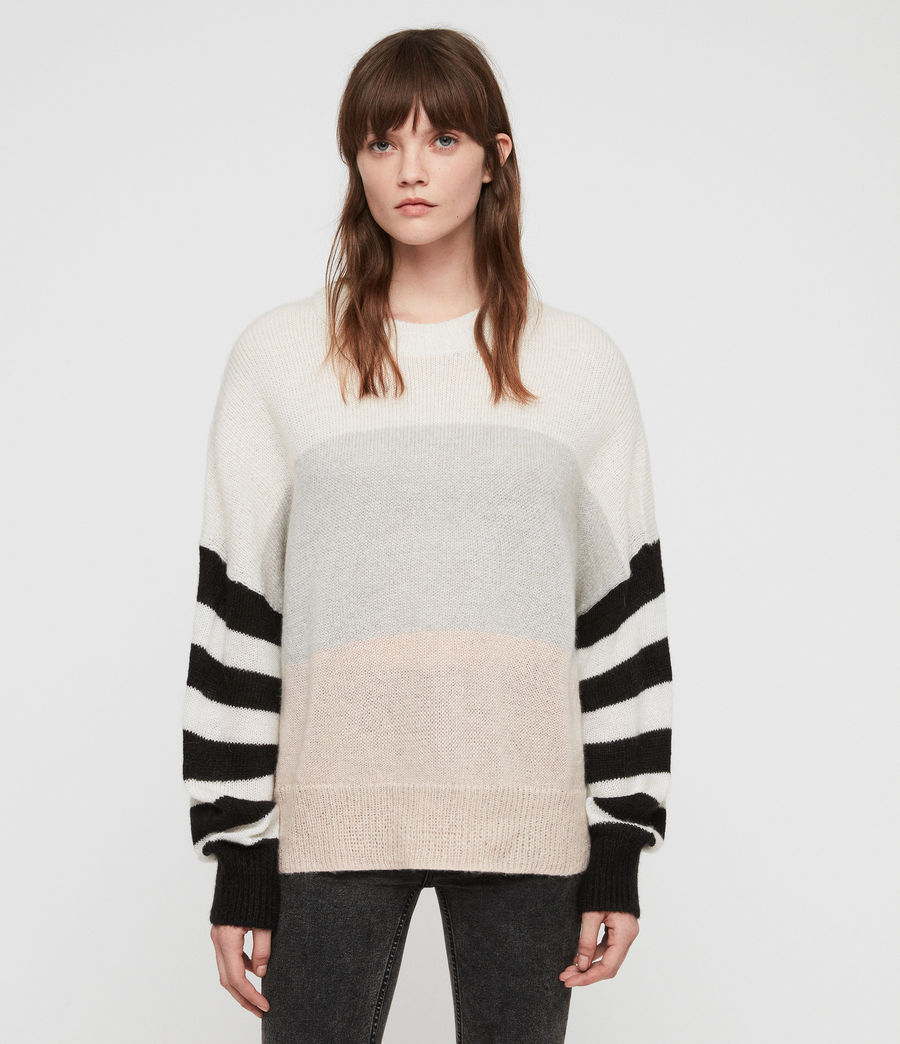 Womens Nicoli Sweater (multi_stripe) - Image 1
