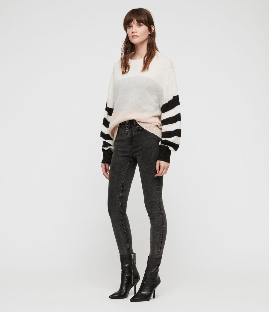 Womens Nicoli Sweater (multi_stripe) - Image 3