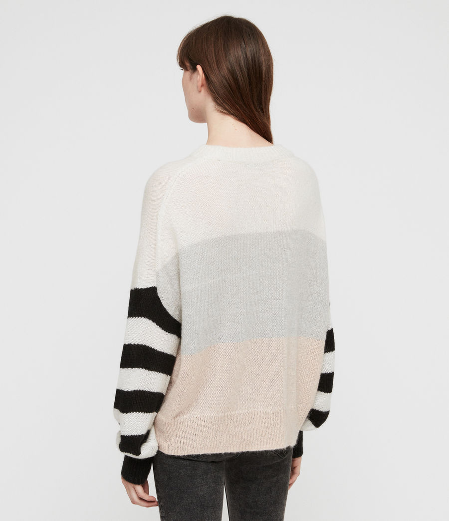 Womens Nicoli Sweater (multi_stripe) - Image 4