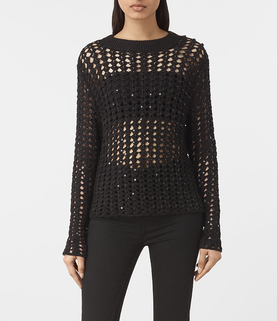Womens Alyse Sweater (black) - Image 1