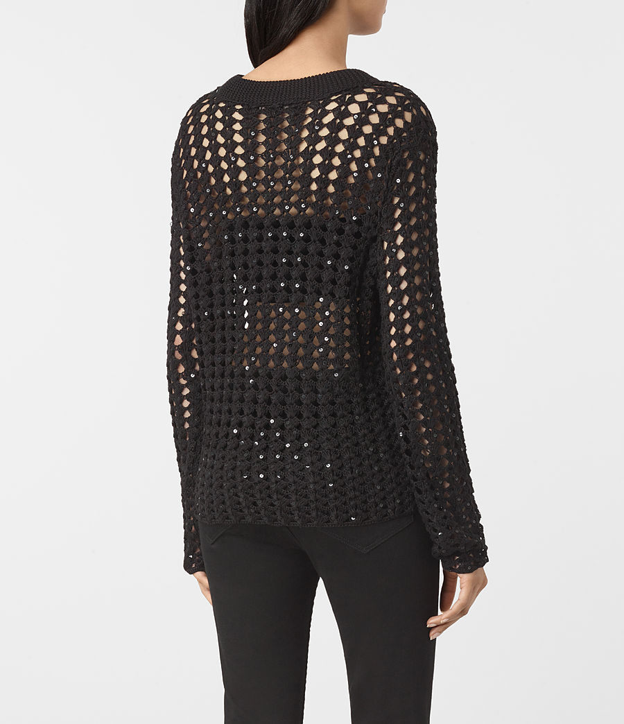 Womens Alyse Sweater (black) - Image 4