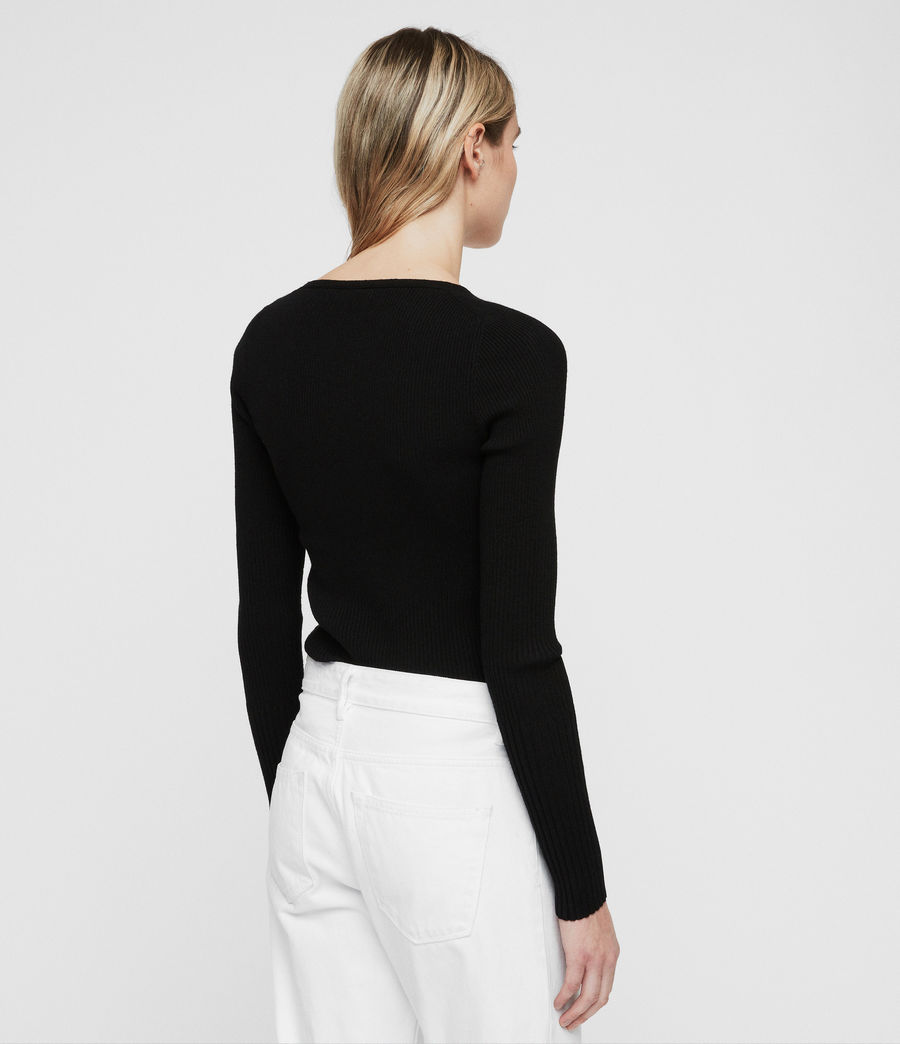 Women's Ribba Jumper (black) - Image 4