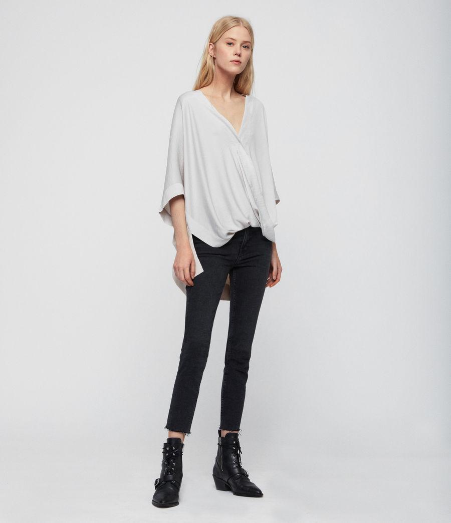 Mujer Camiseta Irina (porcelain_white) - Image 1