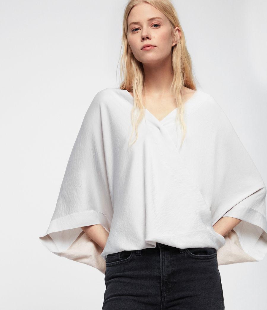 Damen Irina T-Shirt (porcelain_white) - Image 2
