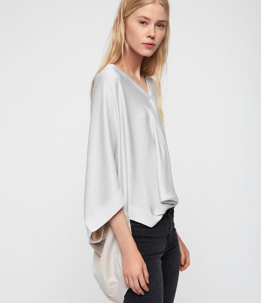 Mujer Camiseta Irina (porcelain_white) - Image 3
