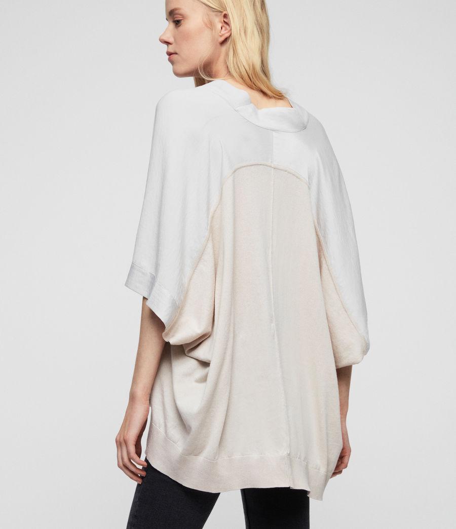 Mujer Camiseta Irina (porcelain_white) - Image 4