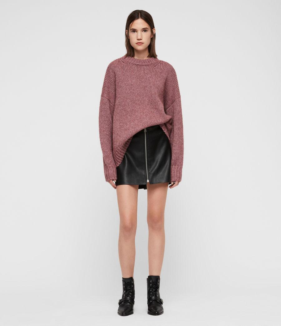 Womens Gemini Sweater (pink_metalic) - Image 3