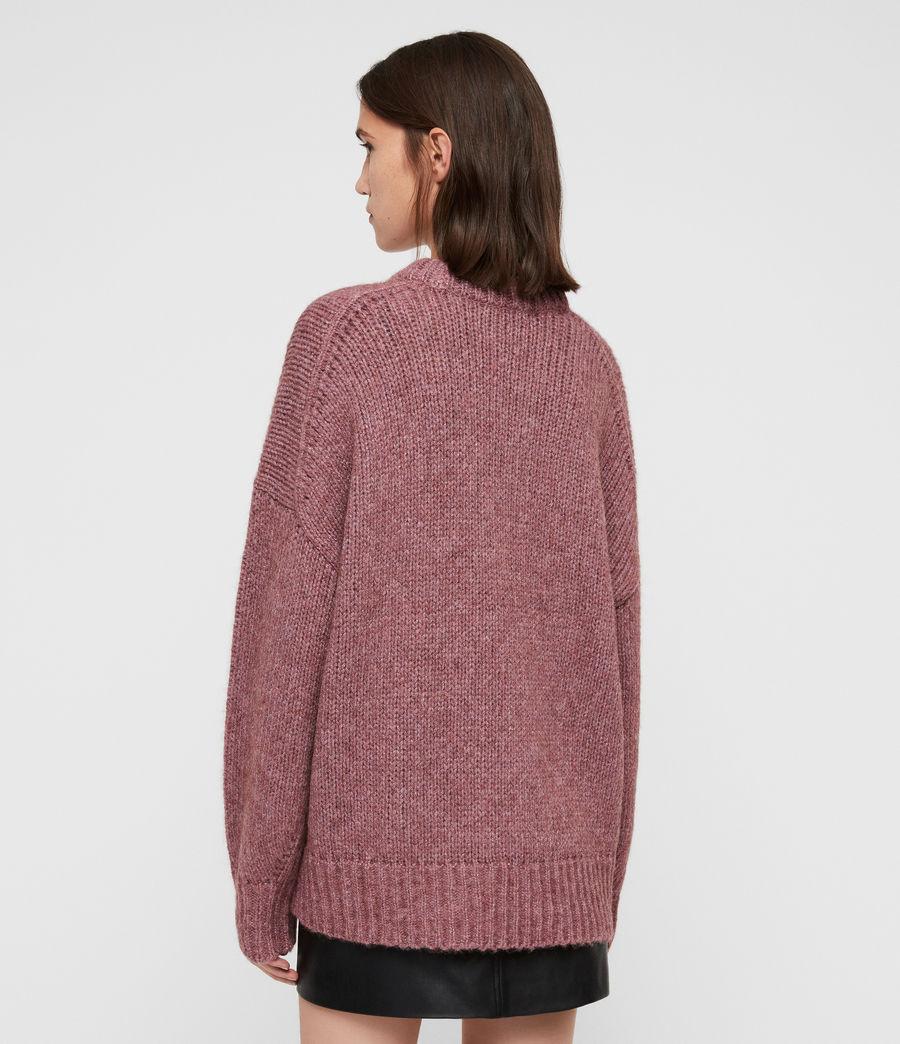 Womens Gemini Sweater (pink_metalic) - Image 6