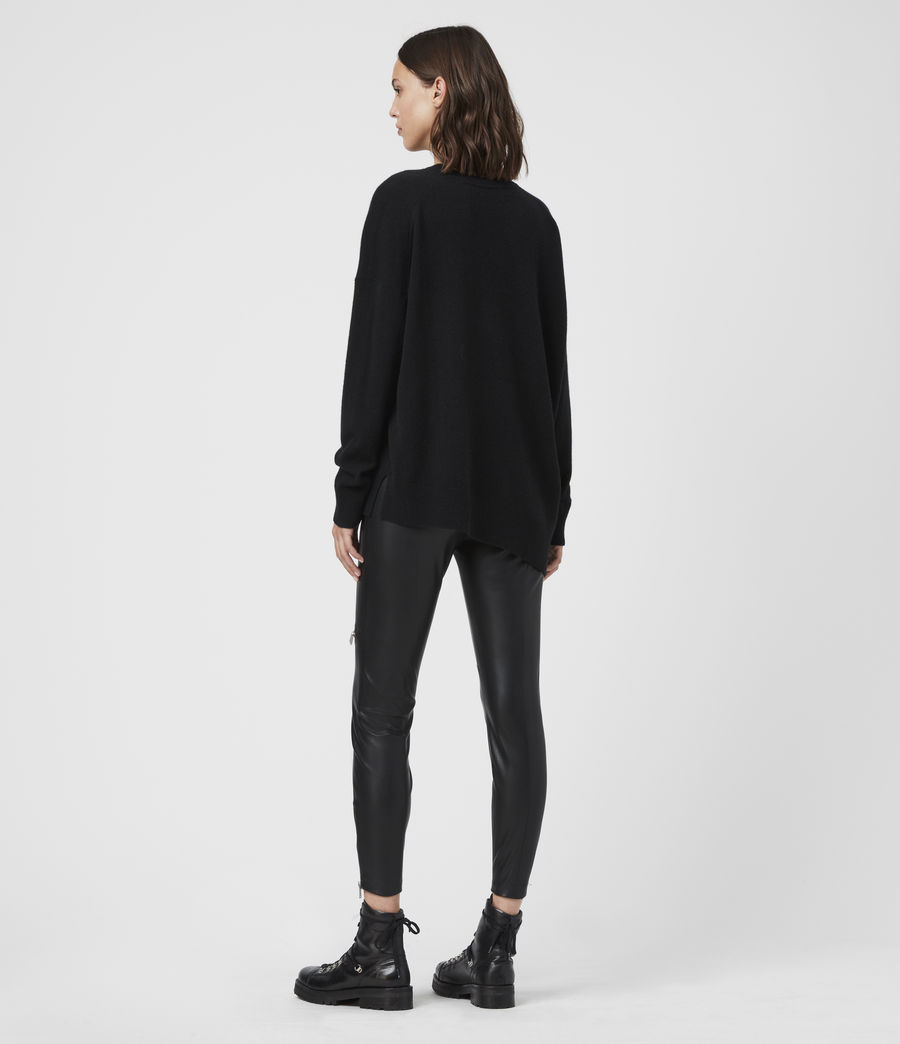 Women's Together Cashmere Jumper (charcoal_grey) - Image 4