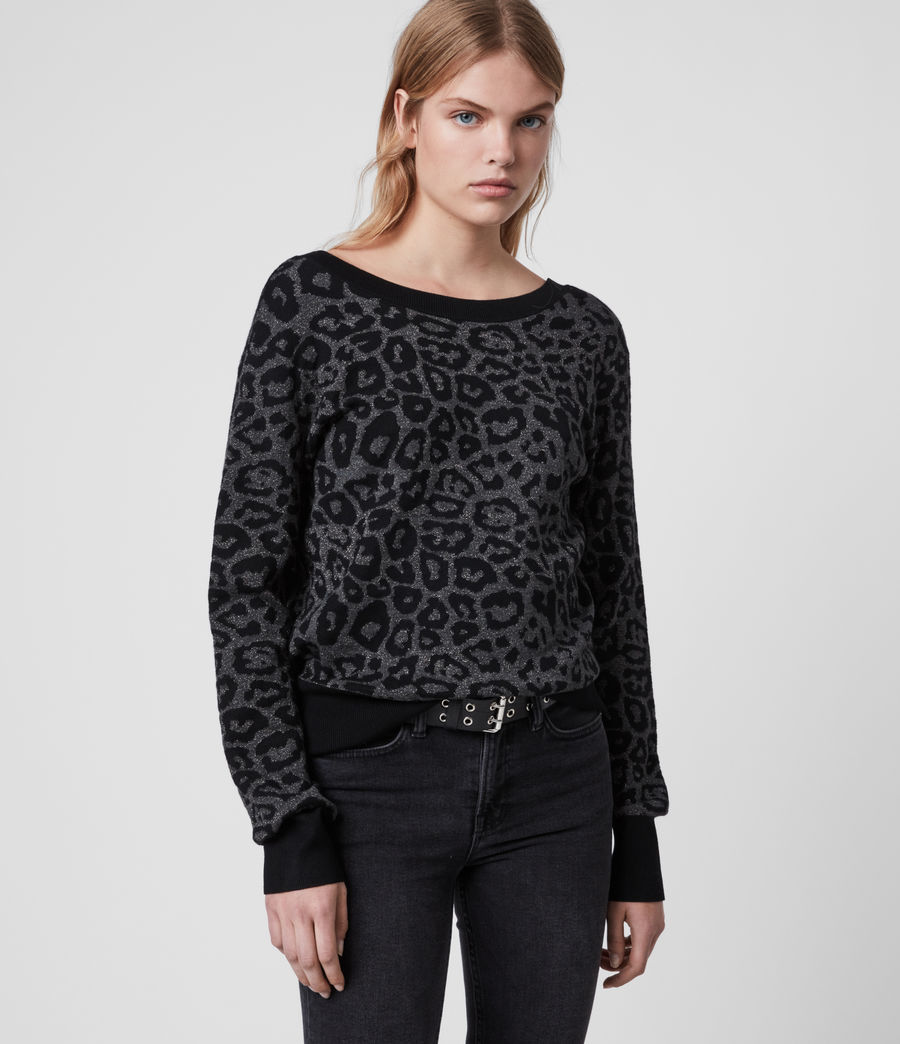 Women's Roxanne Jumper (charcoal_grey) - Image 1
