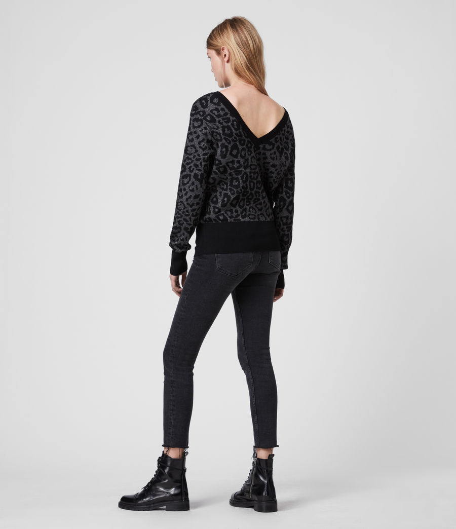 Women's Roxanne Jumper (charcoal_grey) - Image 6