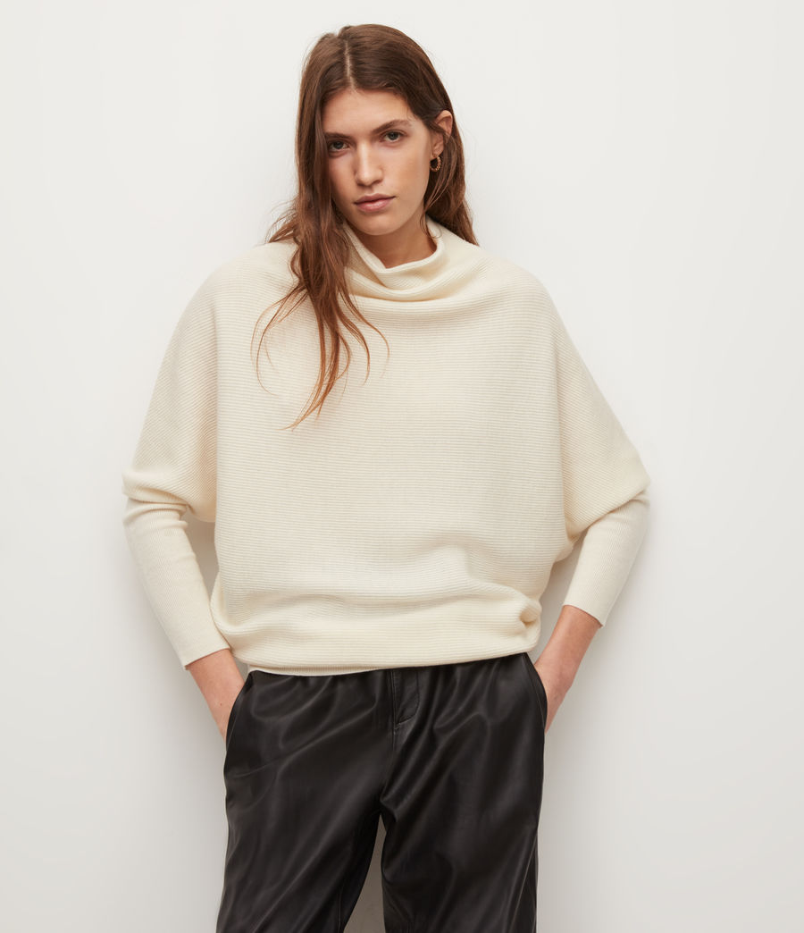 Women's Ridley Jumper (chalk_white) - Image 4